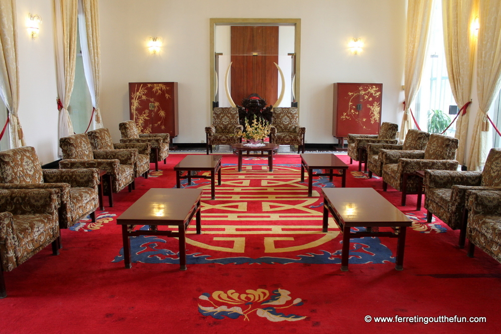 reunification palace interior