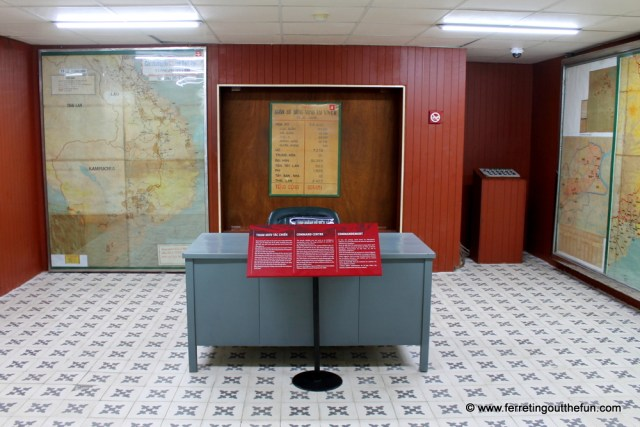 reunification palace bunker