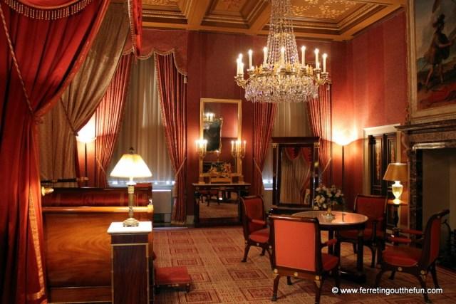 amsterdam royal palace empire furniture