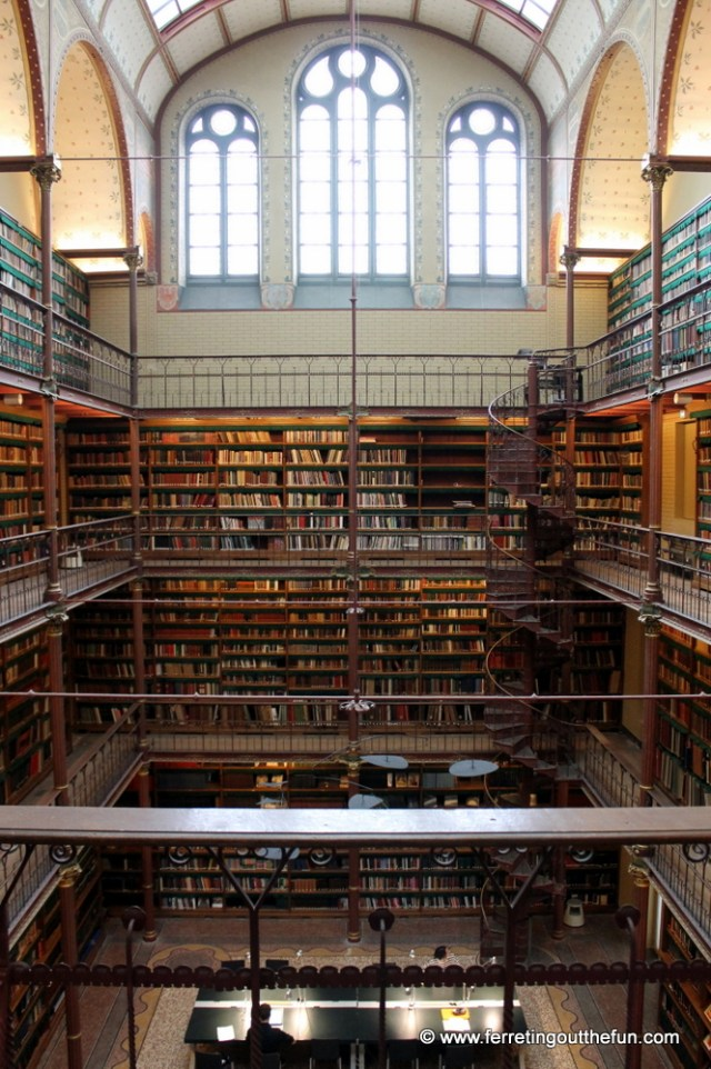 The Rijksmuseum Cuypers Library in Amsterdam