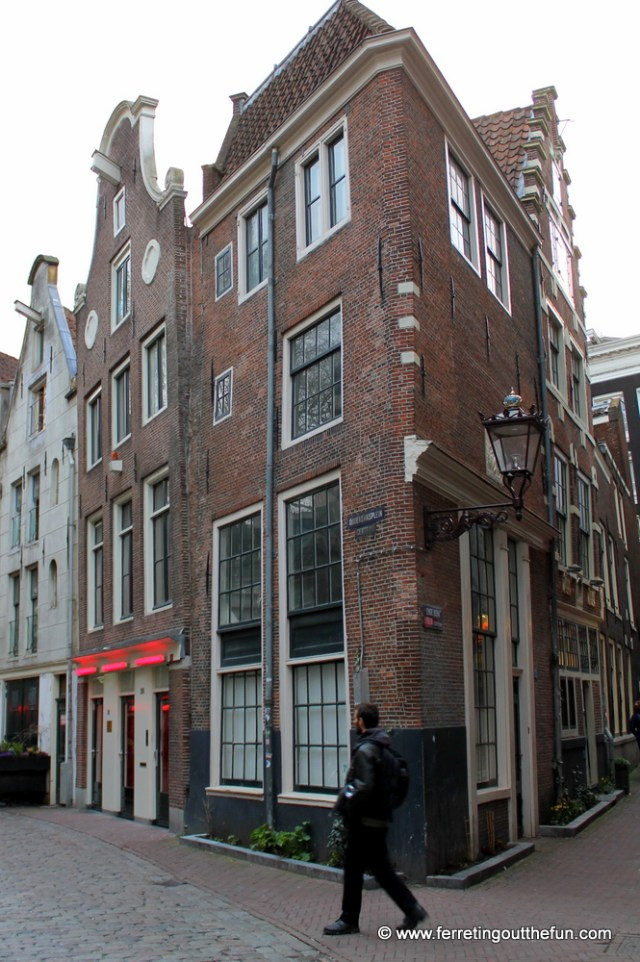 Amsterdam's historic Red Light District