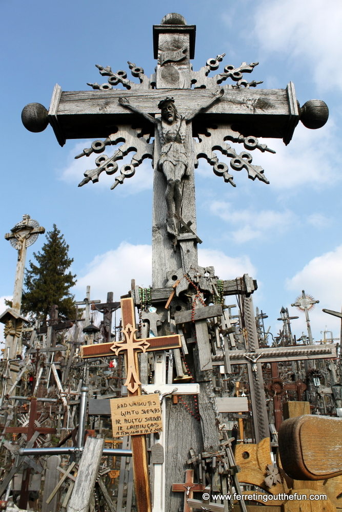 An Extraordinary Hill of Crosses in Lithuania