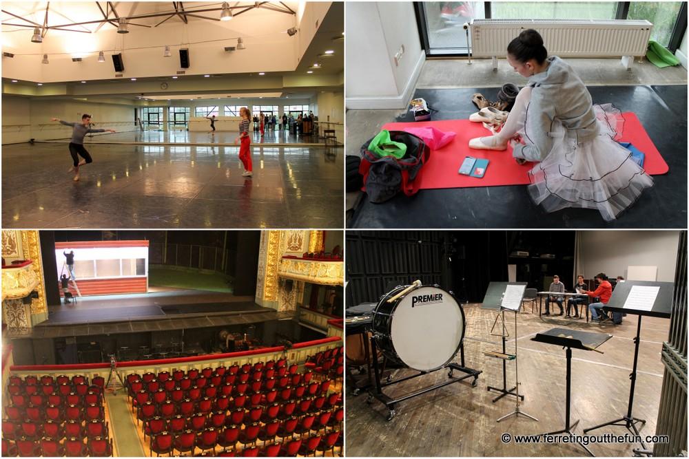 Riga opera house tour