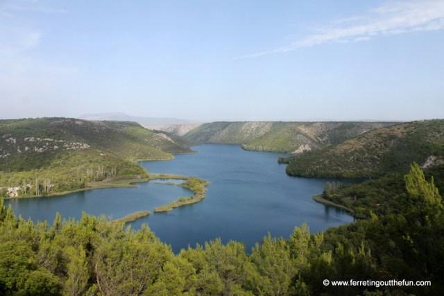 Krka River Croatia