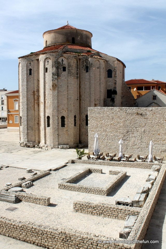 A medieval church in Zadar, Croatia