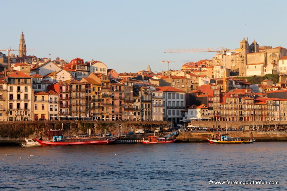 Porto Portugal riverfront