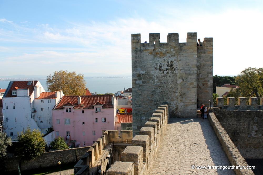 Lisbon Castle of St George