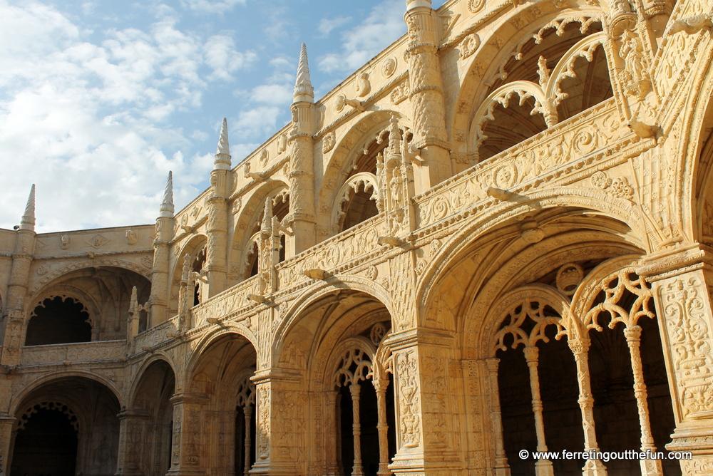 Lisbon cloisters