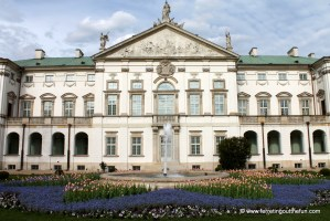 Pretty Palaces of Warsaw, Poland