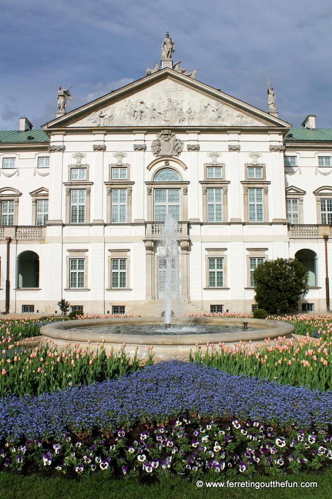 Krasinski Palace in Warsaw, Poland