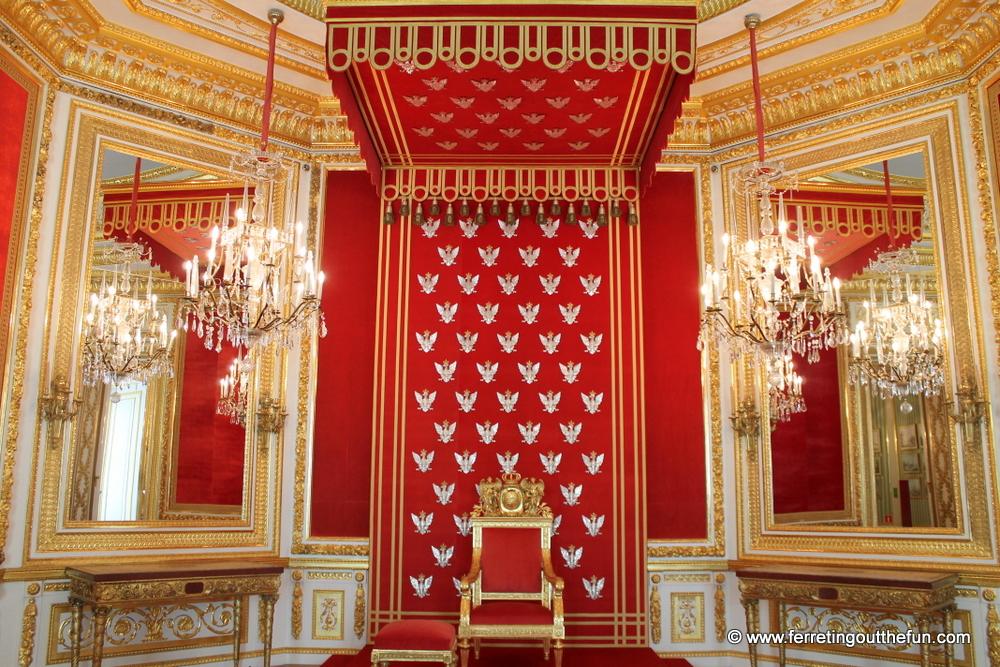Warsaw Royal Castle throne room