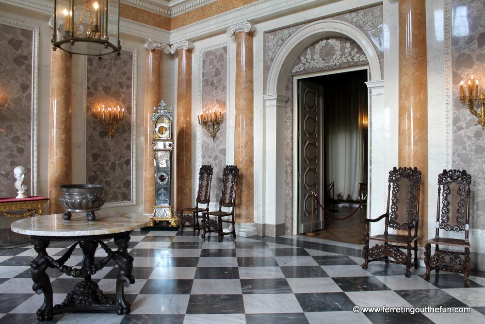 Wilanow Palace interior