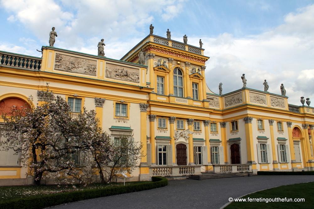 Wilanow Palace Warsaw