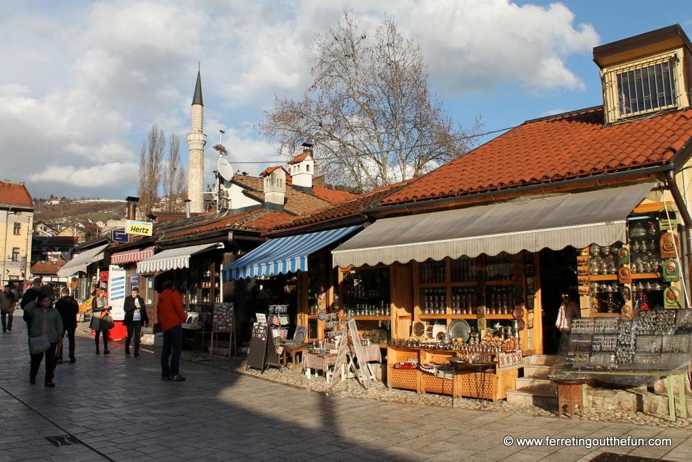 old town sarajevo shops