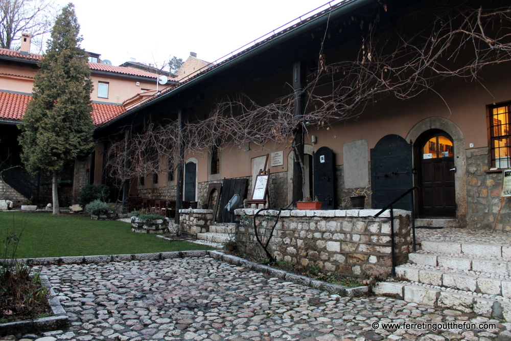 old orthodox church museum sarajevo