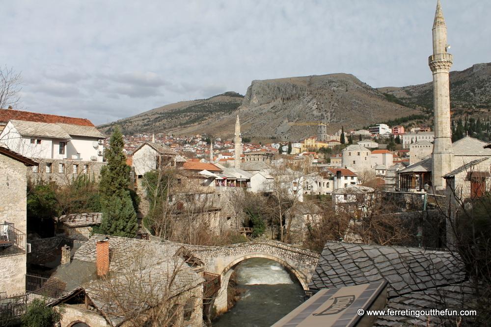 Mostar crooked bridge