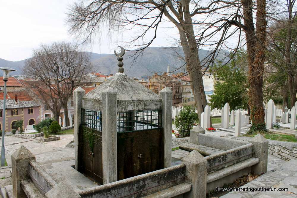 Mostar cemetery