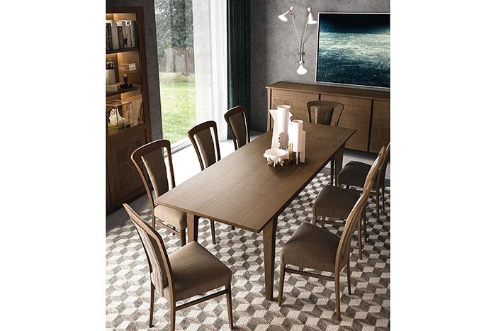 tavolo in legno stile metropolitano gary, un tavolo rettangolare fisso o allungabile caratterizzato da uno stile ricercato e contemporaneo. Tavoli E Sedie Contemporanei Ferretti Ferretti