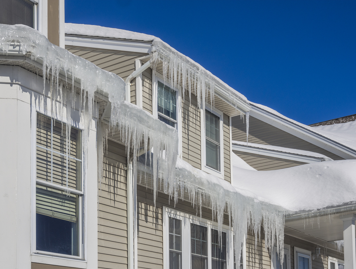 winter roofing problems