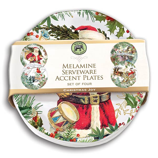 Michel Design Works Melamine Serveware Accent Plates