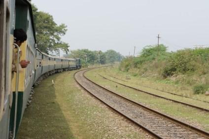 Unterwegs zwischen Lahore und Rawalpindi
