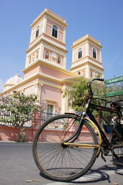 Notre Dame des Anges in Pondicherry