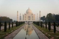 Das Taj noch gaaaanz früh am Morgen