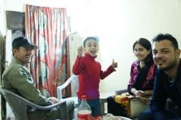 ... meine Couchsurfing Freunde Yasmeen, Farrukh und Ibraheem sowie ein weiterer Freund...