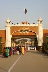 Fotografiert in Pakistan, aber Indien ist in Sichtweite