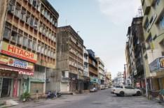 Shoppingcenter am Rand der Städte, vewaiste Innenstädte - das ist das Bild, das ich von den meisten größeren malaysischen Städten bekommen habe. Sehr traurig sieht die Innenstadt von Kota Bharu aus (hier im Bild)