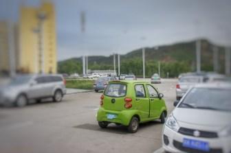 An welches Fahrzeug erinnert dieses Auto?