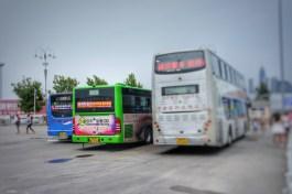Auch die Ursprünge der Heckkonstruktion bzw. des Designs des mittigen Busses sind eher in Europa zu finden als in China
