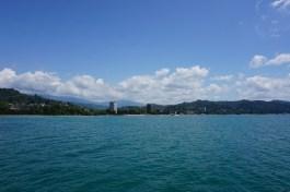 Vom blaugrün schimmernden Schwarzen Meer ...