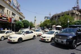 Normales Straßentreiben in Sulaimaniyya