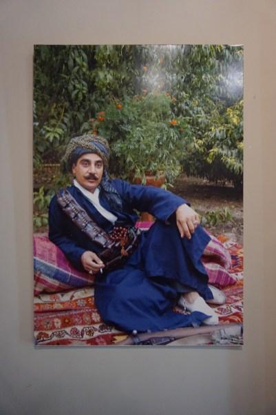 Vermutlich ein klassischer kurdischer Kämpfer in früheren Jahren