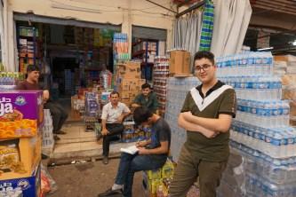 Bazaris in Erbil
