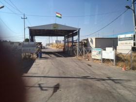 Flüchtlingslager in der Nähe von Erbil