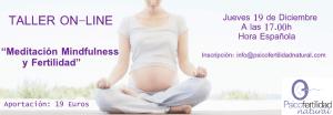 Taller Meditación y Fertilidad lo último de lo último!