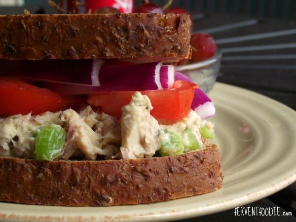 200 calorie tuna salad recipe fervent foodie for Tuna fish salad calories
