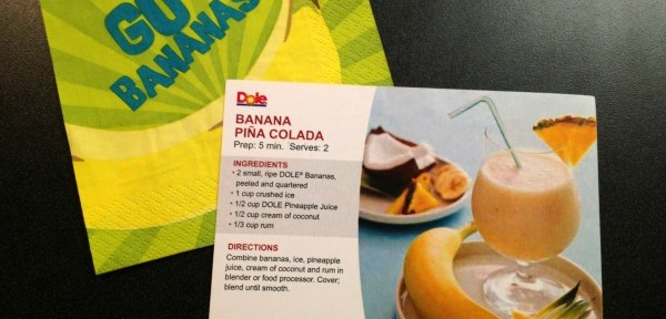 Banana Pina Colada Recipe