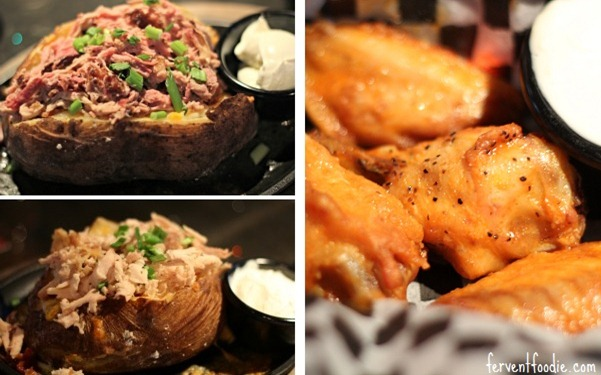 whisky river charlotte stuffed potatoes and wings