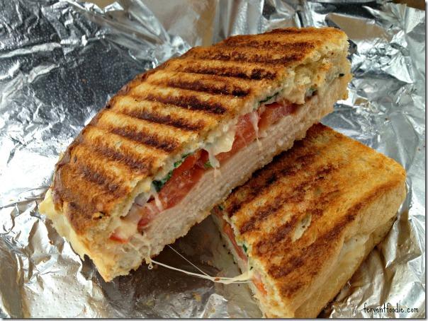 Common Market - hot mama panini with turkey