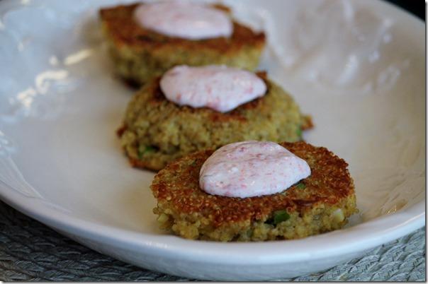 quino patties - key ingredients