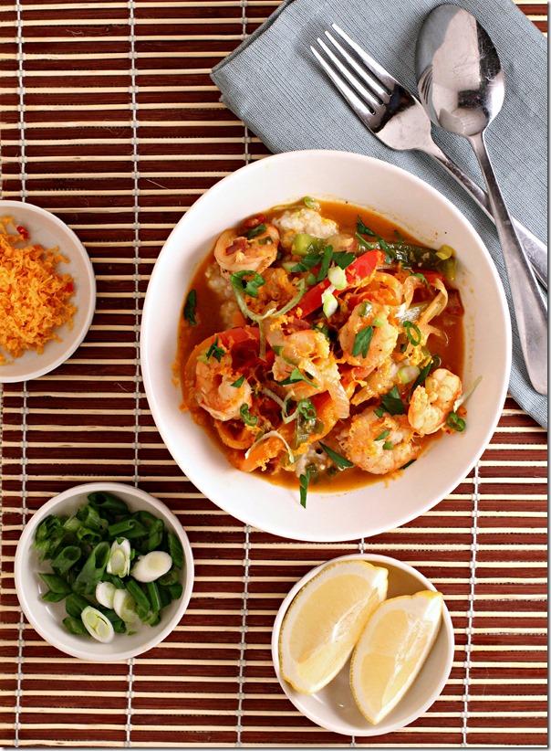 Healthy Shrimp & Grits (2)