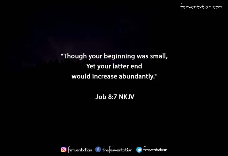 The Light Daily Devotional – Small Beginning