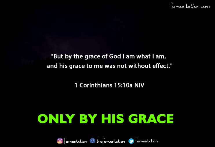 The Light Daily Devotional –  Only By His Grace