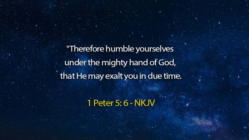 The Light Daily Devotional – Be humble By Yourself