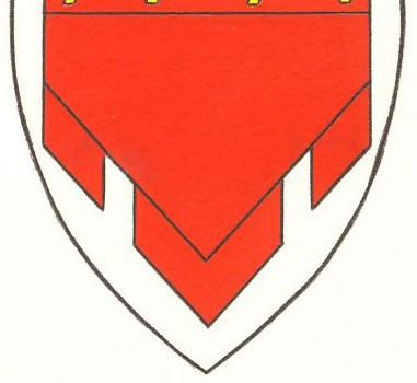 Magnusvaan in het dorpswapen van Ferwoude