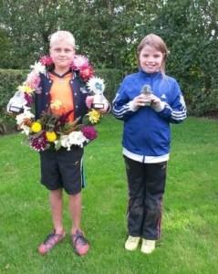 jongste jeugd slotpartij winnaars 05-09-2015