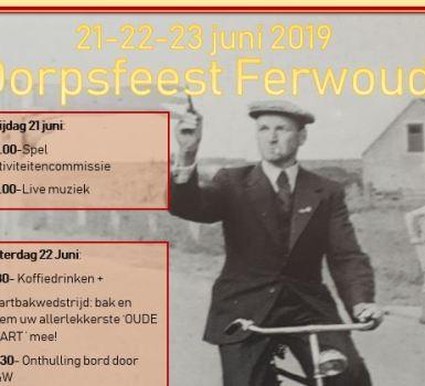 Uitnodiging Dorpsfeest 2019